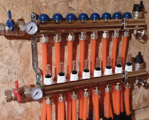 Multizone Warm Water Underfloor Heating System